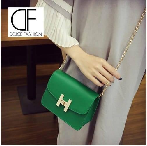 """Tendance Bag"" sac à main – Vert"