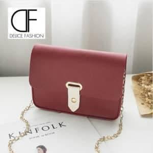 """""""Simple Fashion"""" sac à main- Rouge Foncé"""