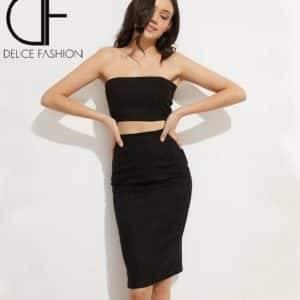 Alicia skirt noir