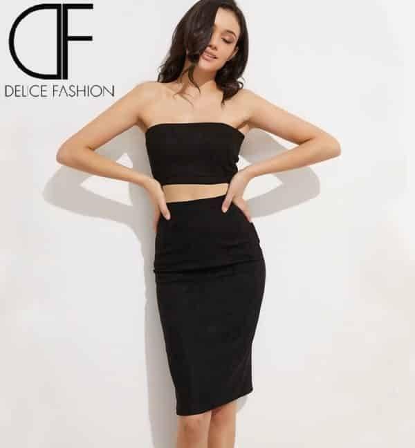 Alicia skirt gris