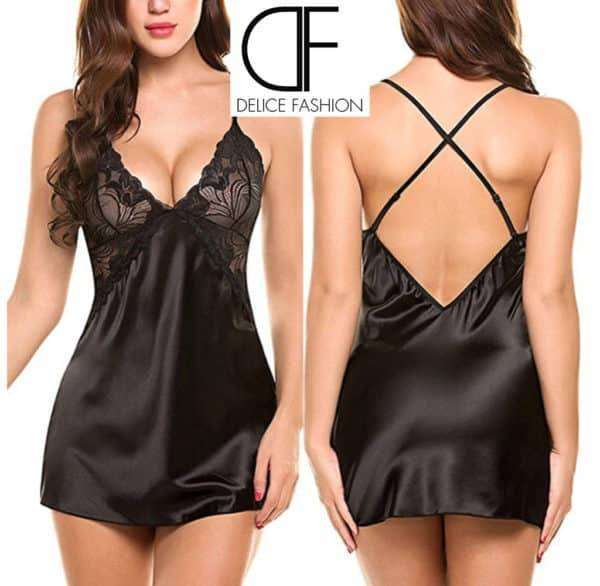 Fashion Sexy Noir