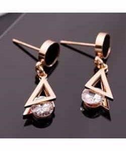 Boucles d'oreilles en Acier Inox
