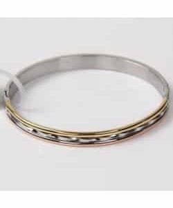Bracelet D4 – Or/Argent