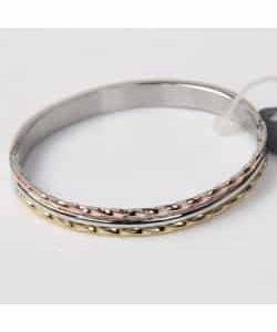 Bracelet D1 – Or/Argent