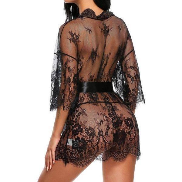 Ensemble nuisette et culotte sexy en dentelle pour femmes