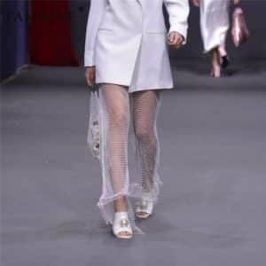 Pantalon Sexy élastique résille 8