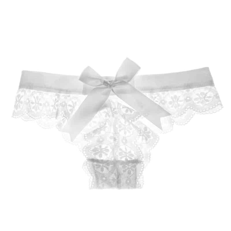 Lingerie String sous-vêtements en dentelle 5