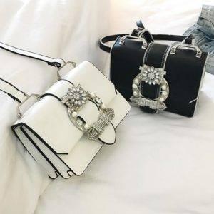 Sac Fashion Designer Diamand Elégant et de haute qualité