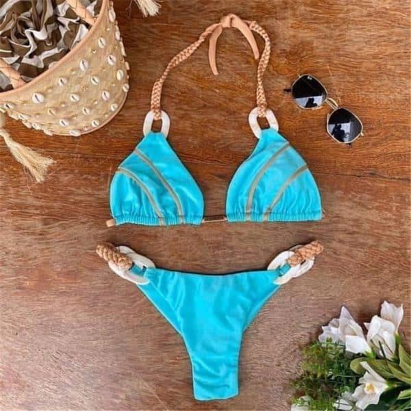 Bikini maillot de bain glamour