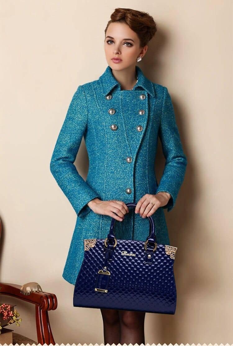 2020 femmes véritable cuir verni sacs à main de luxe épaule sac à main dames fourre-tout sac