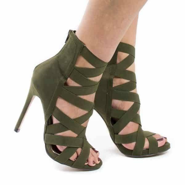 Chaussure à talons glamour
