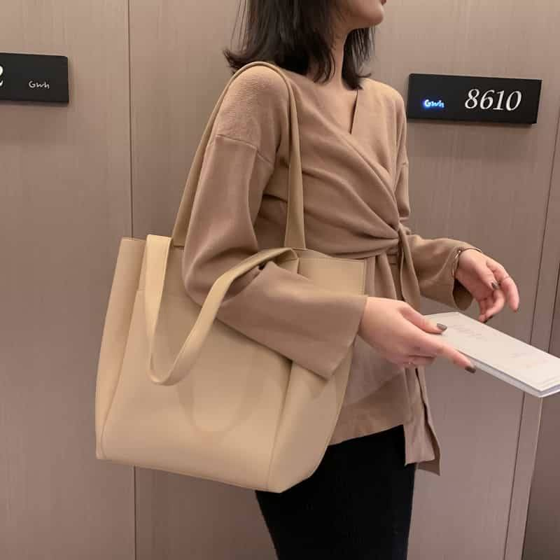 Women's PU Leather Shoulder Bag 6