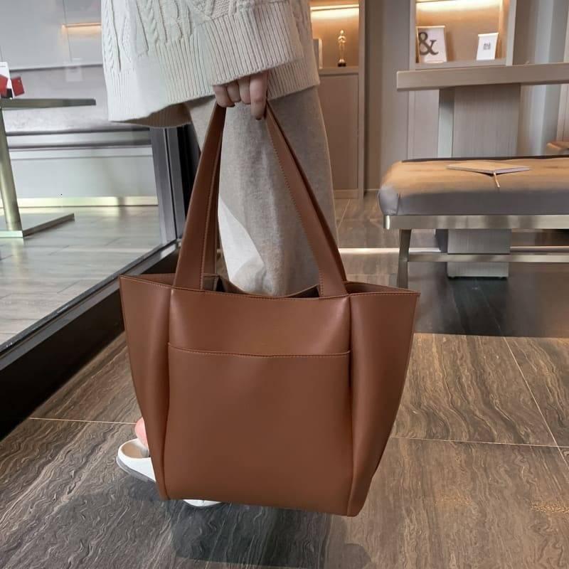 Women's PU Leather Shoulder Bag 5