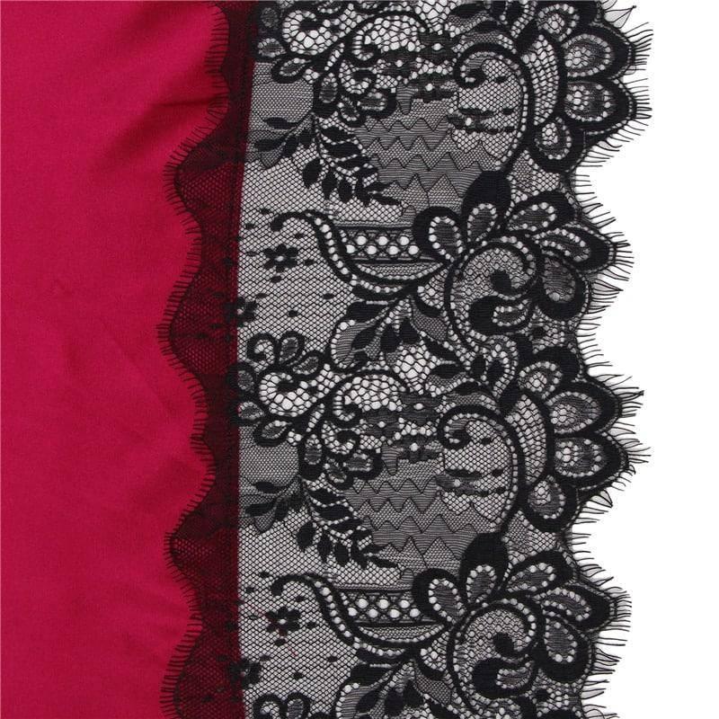 Nuisette Kimono pour femmes en Satin de soie 7
